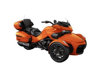 Can-Am Spyder F3 Limited SE6 Phoenix Orange Metallic Dark '19