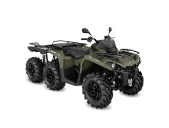 Can-Am Outlander 6x6 PRO+ 450 T Flat Bed '20